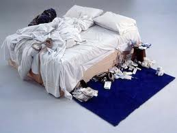 My bed by Tracey Emin-1999